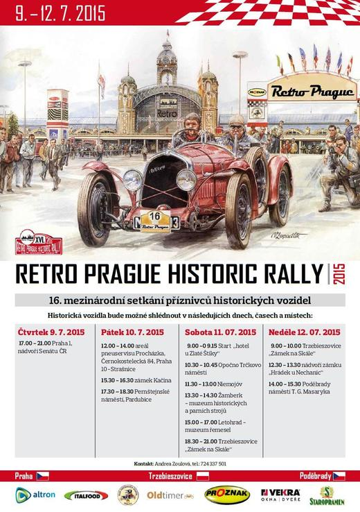 Retro Prague Historic Rally 2015